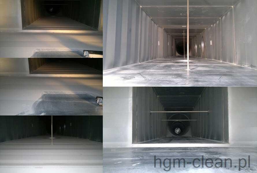 wyczyszczona wentylacja przez hgm clean metoda hydmaster