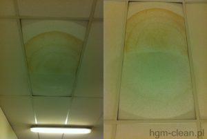 doczyszczanie powierzchniowe sufitów hgm clean